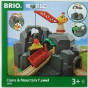 BRIO 33889 Crane & Mountain Tunnel